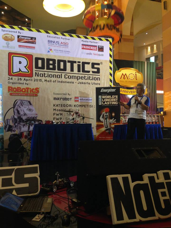 ROBITIC NATIONAL COMPETITION 2015