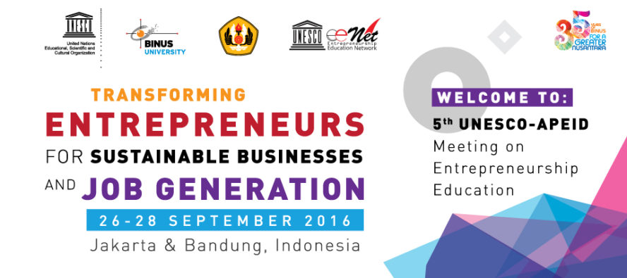 """5th UNESCO-APEID Meeting on Entrepreneurship Education"""