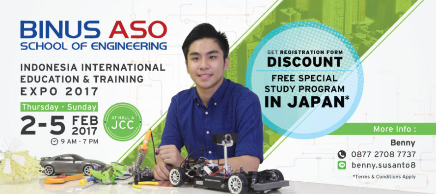 BINUS ASO School of Engineering Becomes Favorite in Technocorner 2018