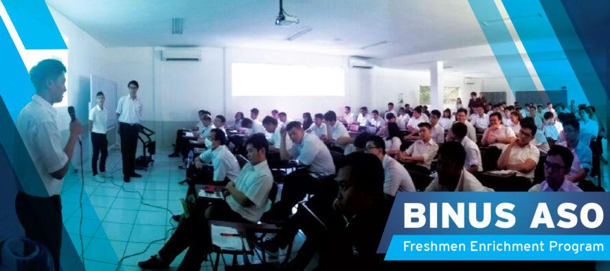 Freshment Enrichment Program BINUS ASO School of Engineering 2017