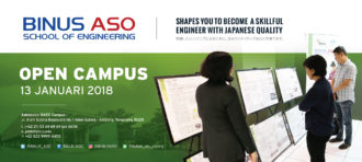 Guest Lecture From Japan to BINUS ASO School of Engineering