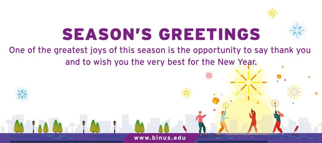 Season's Greetings 2019