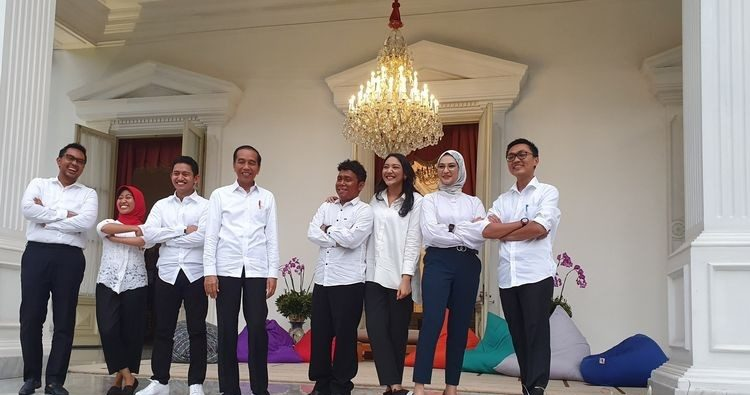 JOKOWI PICKS YOUNG PEOPLE TO PRESIDENTIAL EXPERT STAFF FOR THEIR 'FRESH, INNOVATIVE IDEAS'