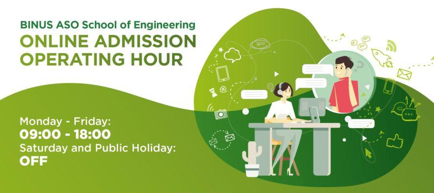 BINUS ASO School of Engineering - Online Admission