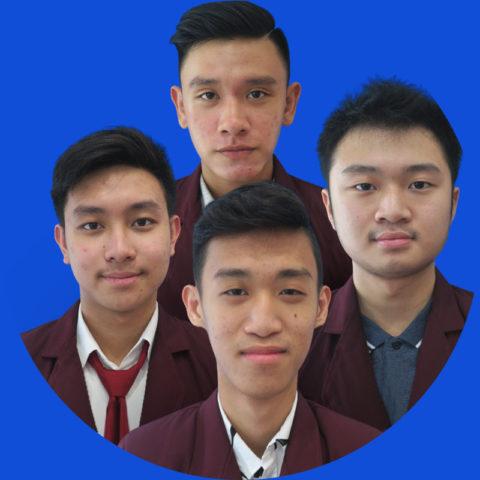 Adriel Jason Hari, Nicholas Bryan Setiawan, Thomas Tetha Tjendra, dan Yohanes Jason Budiyono